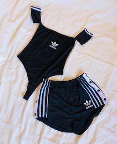 Adidas, Bikinis, Swimwear, Casual, Gym Shorts Womens, Clothes, Style, Fashion, Women's Casual Looks