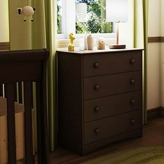 South Shore - Angel Collection 4-Drawer Chest, Espresso
