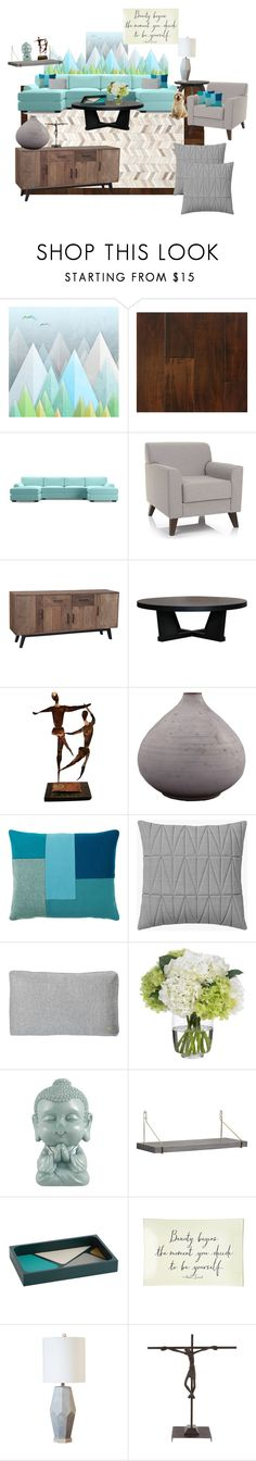"""""""Home is my sanctuary, I fill it with love and peace."""" by grownuppaperdolls ❤ liked on Polyvore featuring interior, interiors, interior design, home, home decor, interior decorating, Monde Mosaic, Somette, Safavieh and Joybird Furniture"""