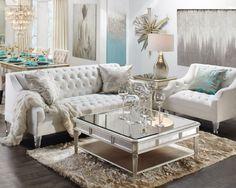Glamorous comfortable fashion living room sofa