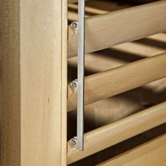 Rockler's Movable Louver w/Hidden Control Arm Shutter Jig and Hardware can help you build your own Plantation-style Shutters easy and affordable. Louvered Shutters, Custom Shutters, Diy Shutters, Window Shutters, Shutter Hardware, Diy Awning, 3d Wall Decor, Folding Furniture, Windows