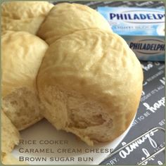 My Mind Patch: Rice Cooker Brown Sugar Bun with Caramel Cream Che...