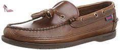 Sebago Ketch, Chaussures bateau Homme, Marron (Brown Oiled Waxy Lea), 44 1/2 EU - Chaussures sebago (*Partner-Link)
