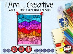 Friday Art Feature - I Am ...