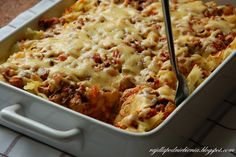z mielonym i makaronem Dinners For Kids, Food Inspiration, Macaroni And Cheese, Clean Eating, Food And Drink, Menu, Ethnic Recipes, Pierogi, Diet
