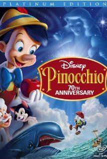 Pinocchio with Dickie Jones as Pinocchio, Christian Rub as Geppetto and Mel Blanc Gideon
