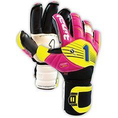 Rinat Supreme Spines Goalkeeper Glove (9, Magenta/Neon)