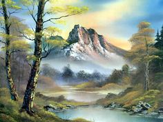 bob ross art gallery | robert norman ross » bob_ross_csg033_mountain_splender