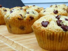 chocolate chip muffins by eating for england