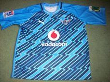 2012 Vodacom Blue Bulls  Super 15 Rugby Union Shirt Adults 3XL
