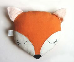 Image of Sleeping Fox Pillow