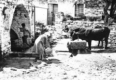 More Yarn Will Do The Trick: Mani, Greece in the Black White Photos, Black And White, Greek History, Under The Moon, Working People, The Old Days, History Photos, Portraits, Athens Greece