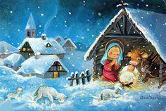 Pesebre de la vendimia Ilustradora Constanza Christmas Manger, Christmas Scenes, Christmas Quotes, Christmas Pictures, Christmas Art, Christmas Projects, Beautiful Christmas, Christmas Clipart, Vintage Christmas Cards