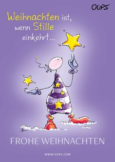 Christmas is when there is silence. Merry Christmas from Oups ~ ww … – Carpe Diem Willkommen Christmas Wishes Text, Merry Christmas Images Free, Merry Christmas Message, Merry Christmas To All, Christmas Colors, Merry Christmas Animation, Christmas Captions, Winter Illustration, Rainbow Painting