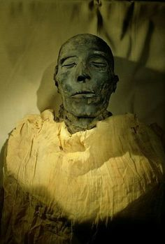 Mummy of Seti I, father of Ramses II, from Egypt's Valley of the Kings, Egyptian Museum, Cairo,