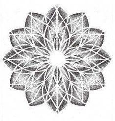Tattoo geometric flower sleeve sacred geometry 54 Ideas for 2019 Dot Tattoos, Dot Work Tattoo, Flower Tattoos, Sleeve Tattoos, Elbow Tattoos, Dotwork Tattoo Mandala, Mandala Tattoo Design, Tattoo Designs, Geometric Mandala Tattoo