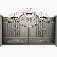 Pics Photos - 3d Model Wrought Iron Gate Wrought Iron Gate By Sogun
