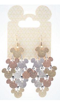 Disney Dangle Earrings - Mickey Icons - Chandelier