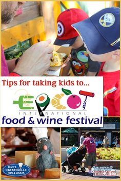 Epcot Food and WIne Festival - Tips for Taking Kids