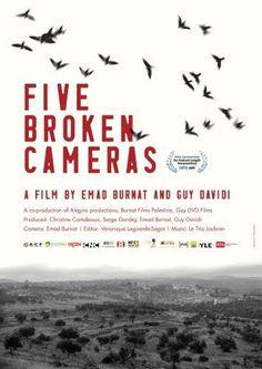 Five broken cameras, 2011.