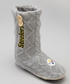 5a31111bb Pittsburgh Steelers XS Knit Boot - Women