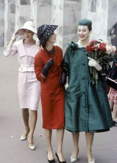 Dior in Moscow, 1950's