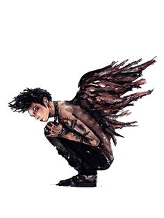 So this is a fabulous painting of Andy in Fallen Angels