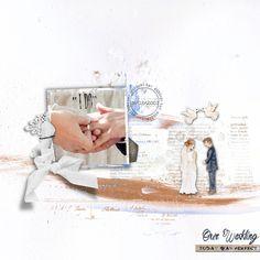 clindoeilDesign Dawn Inskip @ the lilypad scrap digital marriage just married