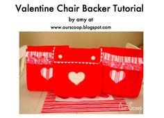 valentine chair back tutorial