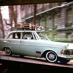 Love the #Paris #taxi in this afternoons film
