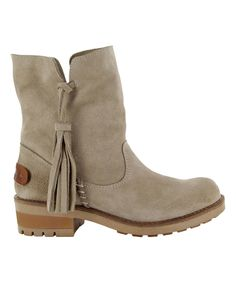 Another great find on #zulily! Coolway Taupe Pavia Suede Boot by Coolway #zulilyfinds