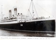 Further Selsey links to Empress of Ireland disaster in 1914