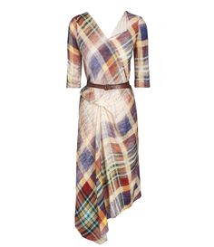 Faded Tartan Contour Dress #AW1415 #Anglomania Please like http://www.facebook.com/RagDollMagazine and follow @RagDollMagBlog @priscillacita