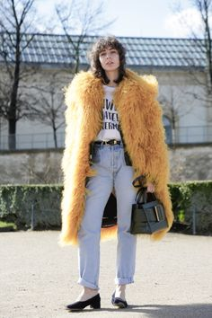 The 10 most eclectic #streetstyle looks from outside the Fall 2016 shows at Paris Fashion Week