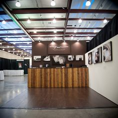 Bridal Show Booth dotson studios -gorgeous!!