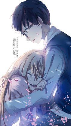 The feels!! I can't handle it!! -- Anime, Your Lie In April, Shigatsu wa Kimi no Uso, Kaori and Kousei, moments, scenes, tears