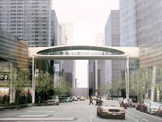 NEY & Partners | Projects | Pedestrian Bridge Time Tunnel Shenzhen | 15498 | Shenzhen