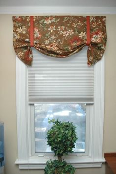 Stagecoach Shade Makes A Great Valance Decorating Ideas
