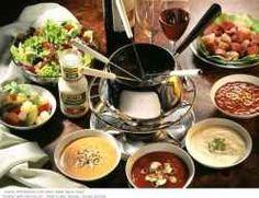 Meat Fondue Recipes meat fondue (with the wonderful side sauces)!meat fondue (with the wonderful side sauces)! Meat Fondue Recipes meat fondue (with the wonderful side sauces)!meat fondue (with the wonderful side sauces)! Fondue Recipe Melting Pot, Broth Fondue Recipes, Sauce Recipes, Cooking Recipes, Meat Recipes, Melting Pot Recipes, Swiss Recipes, Copycat Recipes, Yummy Recipes