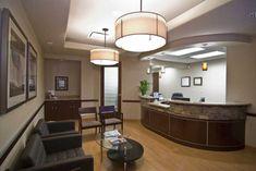 Reception area Interior Design Medical Office
