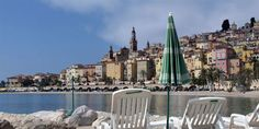 Menton, France.  Wishing I was there today.