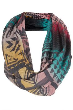 Ombre Aztec Scarf
