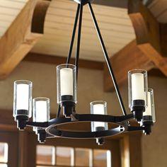Birch Lane Gramercy 6-Light Oval Chandelier