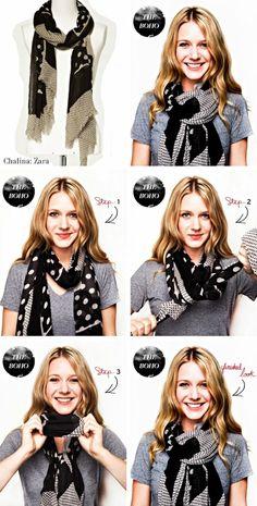 9184c6cd8391ea 15 Schritt-für-Schritt Smart Wege, einen Schal zu binden - das perfekte