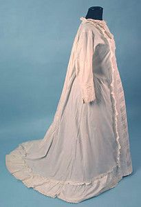 Bustle Nursing Gown, 1870s