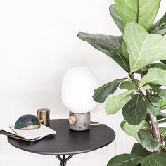 Jwda Concrete Lamp by Jonas Wagell