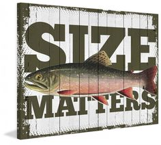 Size Matters by Saturday Evening Post Painting Print on Canvas