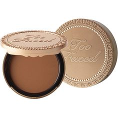 Too Faced Chocolate Soleil Matte Bronzer, Deep Tan 1 ea (255 SEK) ❤ liked on Polyvore featuring beauty products, makeup, cheek makeup, cheek bronzer, beauty, faces and too faced cosmetics