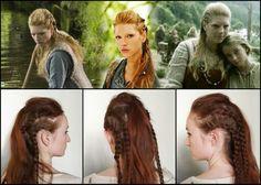 Lagertha hair from Vikings tv show.