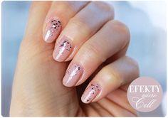 Alina Rose Makeup Blog: Efekty stosowania odżywki do paznokci + dzisiejszy manicure.